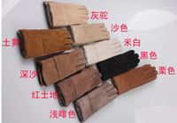 Wholesale Men and women gloves sheepskin gloves Box
