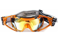 Wholesale 2012 new windproof goggles ventilate designe anti impact sport goggles headstrap colors