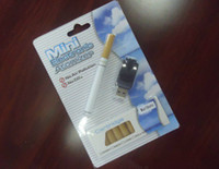 Wholesale 50set Mini Electronic Cigarette with Refill E cigarette with USB adaptor Mint and many flavors