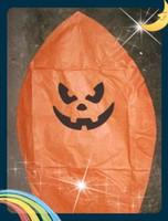 Design de mode halloween citrouille lanterne,sky lanternes livraison Gratuite