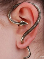 Wholesale wholesaleEar bone snake earrings retro jewelry