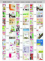 Wholesale 3D New x60cm Wall Decor Mix order Kids Wall Stickers Decals Nursery Wall Art Decal Sticker Decor