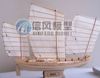 Wholesale Wooden ship model European style wooden ship model Furnishing articles for