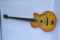 Semi-Hollow Body jazz bass - MUSOO BRAND SEMI HOLLOW JAZZ BASS