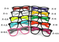 Wholesale Mixed colorful frame optica glasses frame plastic eyeglasses whitot lens