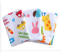 bath towel material - Baby bath towel super soft cotton double layer blanket bed gauze material Soft