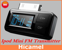Wholesale FM Transmitter With Car Charger Remote Control For Apple iPhone S G GS iPad iPod