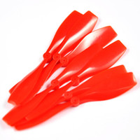 Wholesale Red Prop mm Hole Plastic aircraft propeller Helicopter Tail Fixed Wing DIY Toy Model Making Parts