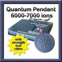 Men's 6000~7000 negative ions Pendant Necklaces [MOQ 1 piece] Quantum Scalar Energy Pendant Necklace 6000 ~ 7000 negative ions power Free Shipping