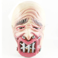 Wholesale Halloween masks horror grimace mask Funny mask of terror nail rotten mouth mask