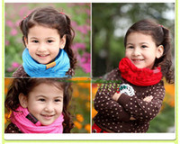 L313 baby boy rings - Children s Muffler Baby Autumn and Winter Warm Scarf Boy Girl Knitted O Scarf color