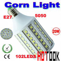 Wholesale Drop Shipping LED Bulbs E27 W SMD LED Corn Light Watt Bulb Lamp