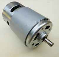 Wholesale 775 Motor High Torque High Speed V rpm Micro DC Motor for Power Tools DIY Parts
