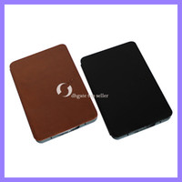 Wholesale Leather Cover case for amazon kindle touch kindle with light