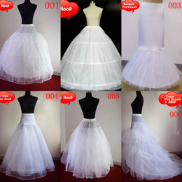 Wholesale in stock one piece undergarment wedding petticoat slip underskirt crinoline for bride gown