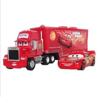 Wholesale What Set Pixar Cars MACK HAULER amp Car Truck Toy Movie Figure Toys Dropshipping