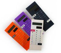 Wholesale Piece New Arrive Mini Portable Multi function Clip Solar Calculator