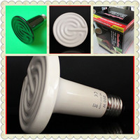 Wholesale Ceramic Emitter Heated Pet Appliances for Reptile Heat Lamp Light V V W W is Available
