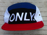 Wholesale Soft Fabric Snapbacks Hip Hop Hats Caps New Design Hat ONLY NY New York Snapback Hats High Quality