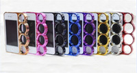 Plastic For Apple iPhone  Brand New Phone Brass Knuckle Case for iphone 4 4s With retail package Mobile phone cover
