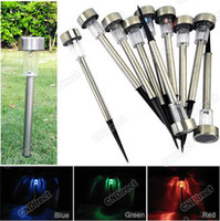 Wholesale Hot SellinG Outdoor Path Garden Solar Power LED Landscape Color Changing Light Lamp
