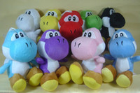 Wholesale super mario bros yoshi plush animals inches colors sitting yoshi sucker