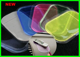 Wholesale Best price Powerful Silica Gel Magic Sticky Pad Anti Slip Mat for Phone mp3 mp4 Car