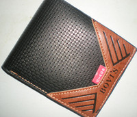 Wholesale Mens Leather Wallet Pockets Card Clutch Purse Card Holder