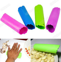 Wholesale New Magic Garlic skin remover Peeler Peel Easy in Kitchen Tool