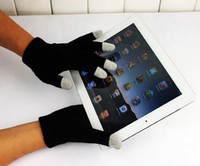 Wholesale 2012 Touch Gloves Screen itouch Magic gloves ipad tablet Pure colors Winter warm Unisex Dropship