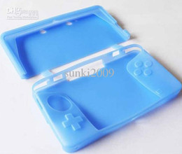 Silicone Skin Case Cover For game 3DS Console Brand new 10pcs lot