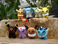 EMS Pokemon Pocket Monster 8 Styles 6 '' Umbreon Eevee Espeo...