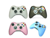 For Xbox   Game Controller Silicone Skin Case Cover for XBOX 360 xbox 360 mix color 20 pcs free via CPA