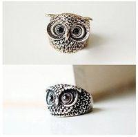 Wholesale Vintage Owl Finger Ring Retro Owl Jewelry