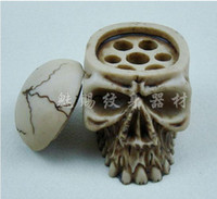Wholesale Skull Tattoo Tatouage Ink Pigment Cap Cup Holder Stand Frame attoo Accessory SupSupply