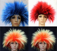 Wholesale Performing a wig Carnival wig Cass wig The dance show Carnival vertical hair
