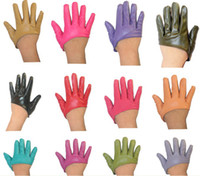 Wholesale 50pairs Fashion Colorful star gloves Sex and the City the same paragraph half palm gloves