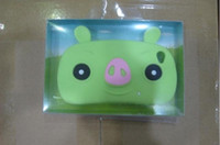 Wholesale cartoon pig case for iphone smart Case for iPhone4S G with retail packing