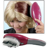 Wholesale LADY ELEGANCE electric hair dye the comb hair dye hair color coloring apparatus device convenient