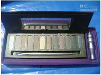 Wholesale 12 colors hot new Makeup eyeshadow Naked with ml primer eyeshadow palette x1 g