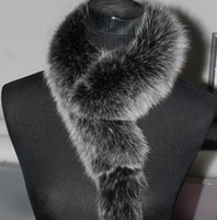Wholesale price Genuine fox fur scarfs wrap best gift for christmas nice quality free shippng