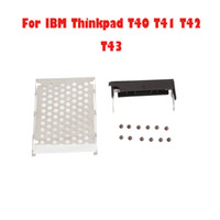 2.5'' Other 5 Hard Drive Cover+Hard Drive Caddy+Screws For IBM Thinkpad T40 T41 T42 T43 New 50pcs lot 83003711