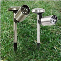 Wholesale New Hot Outdoor Solar LED White stainless steel Flood Garden path Light