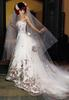 2013 Low price ivory color wedding dresses RomanticWeddinggown Bride wedding Dress 0888