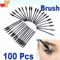 Wholesale Eyelash Brush Mascara Applicator One Off Disposable Wand Brush Set HB8094