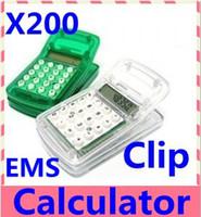 Wholesale Pieces Multi function mini clip Magnetic clip calculator for EMS