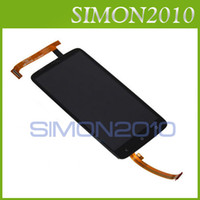 Wholesale For HTC One X X complete LCD display with digitizer touch panel screen full assembly replacement