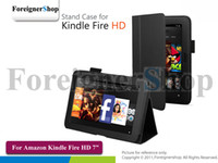 Wholesale 300 For Amazon Kindle Fire HD quot Inch Tablet PC Stand Folio Folding PU Leather Case Cover