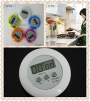 Wholesale Mini Digital LCD Kitchen Countdown Stopwatch Cooking Count Down Clip Timer New Good Quality Hot Sale