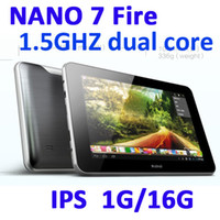 Wholesale Ainol Novo7 Fire Tablet PC Android quot IPS Screen GB Bluetooth Dual Core GHz MP MP